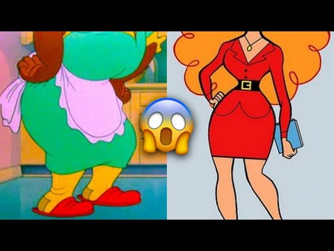 Cartoon Characters Who Secretly Revealed Their Faces!