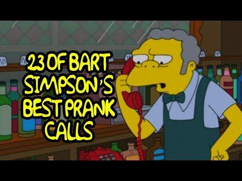 23 Of Bart Simpson's Best Prank Calls