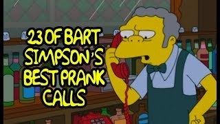 23 Of Bart Simpson's Best Prank Calls