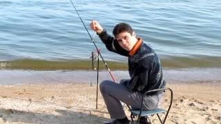 Fishing on Azov sea