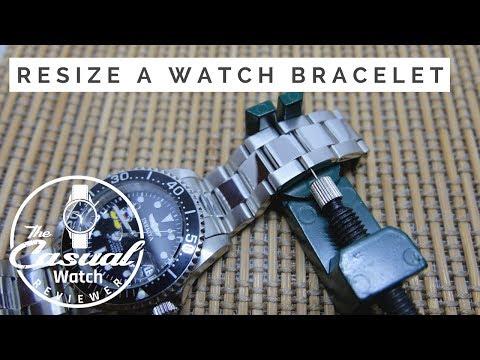 Easily Resize Invicta Pro Diver Bracelet