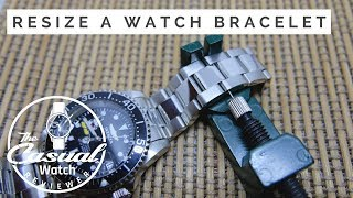 Easily Resize Metal Watch Bracelets With Tools From Amazon