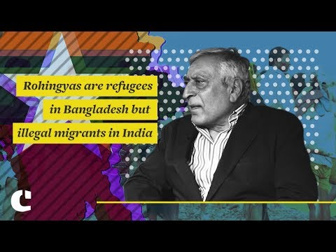 Rohingyas are refugees in Bangladesh but illegal migrants in India: Kanwal Sibal