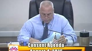 City of Ocoee Commission Meeting  8.4.2015