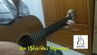 Em Hiền Như Masoeur - Guitar Solo