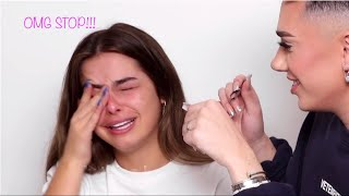 James Charles annoying Addison Rae for 2 minutes straight