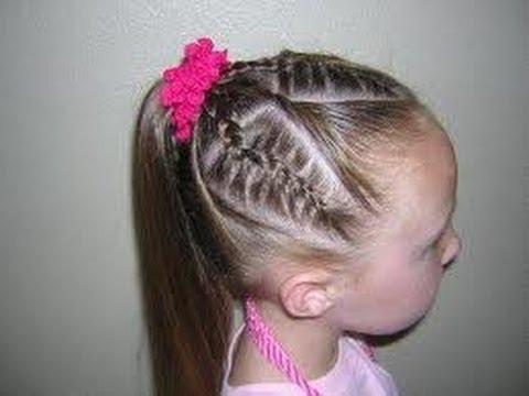 Peinados faciles para ni as 1 youtube - Peinados de ninas ...