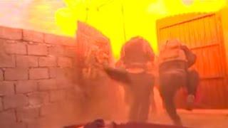 فريق بي بي سي ينجو من هجوم انتحاري قرب الموصل