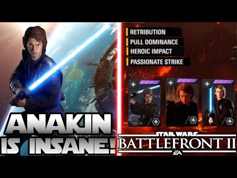 ANAKIN SKYWALKER Revealed! - 4 Abilities, Emotes and more - Star Wars Battlefront 2
