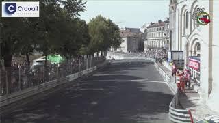 Circuit des Remparts, accident d'Anna Tiger à la fin de la première course