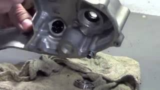 Dirt Bike - 04-08 crf450 Leaking Water Pump Rebuild