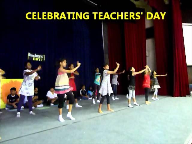 Teacher's Day Celebrations 2012 | GIIS Balestier Campus, Singapore