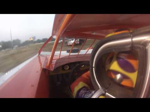 Gordy Gundaker in car from Quincy Raceways feature clip 7-20-14