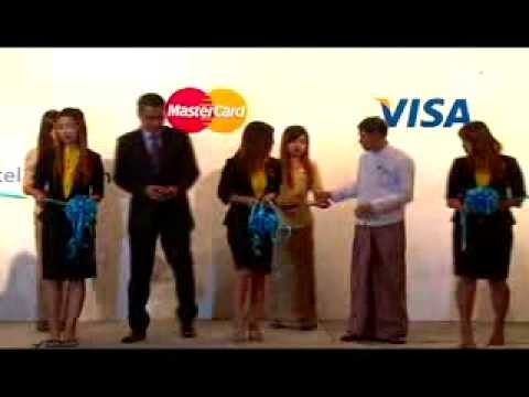 Cashless: Myanmar Citizens Bank Launches Visa & Mastercard