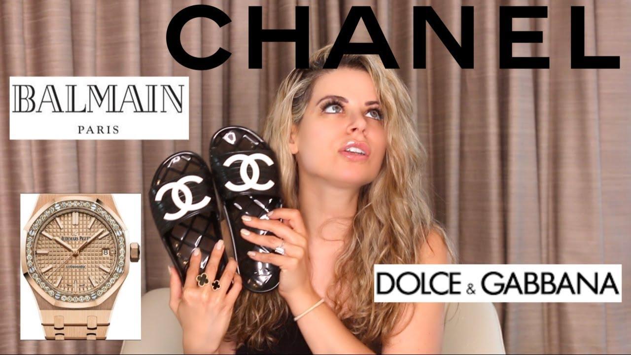 MAJOR LUXURY HAUL - Part 2 - Chanel, Balmain, Dolce & Gabbana