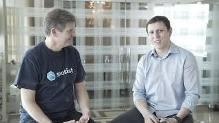 Silvio Pereira, CEO da RealCloud entrevista Carlos Monteiro da VTEX sobre o uso de Spotinst, durante