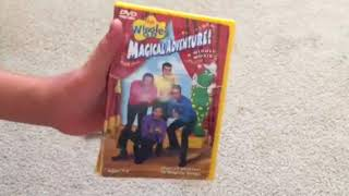 Comparison video The wiggles magical adventure a Wiggly movie cd and dvd