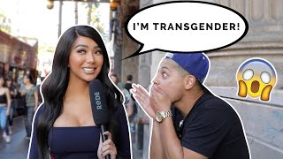 ASKING STRANGERS IF THEY THINK I'M TRANSGENDER! | Nikita Dragun