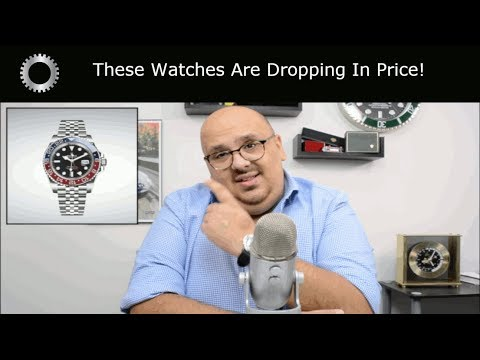 3 Popular Watches DROPPING In Value ! - Rolex, Omega And Tudor !