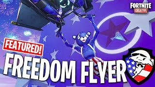 *GLIDER MAP* Freedom Flyer! 4th of July! | Fortnite: Creative
