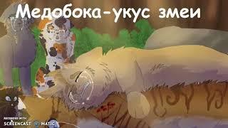 •Коты-Воители• •СМЕРТИ• /•1 ЧАСТЬ•/