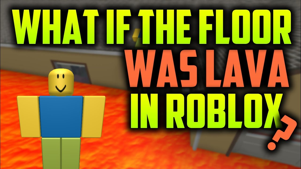 how to make lava in roblox