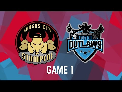 Kansas City Stampede vs. Austin Outlaws - Game 1
