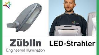 Die robusten Außenstrahler: Züblin LED Strahler 30W, 50W, 100W und 200W