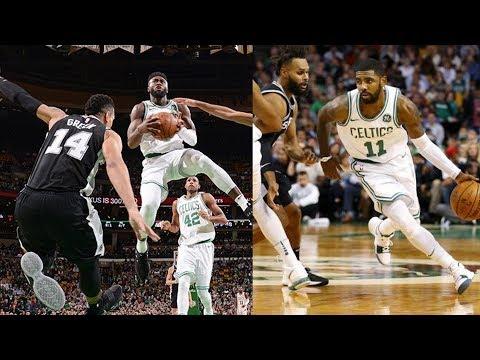 Celtics Win 5 Straight! Spurs Lose 3 Straight! 2017-18 Season