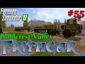Let's Play Farming Simulator 2017, Goldcrest Valley #55: Small Bale Road Train! video & mp3