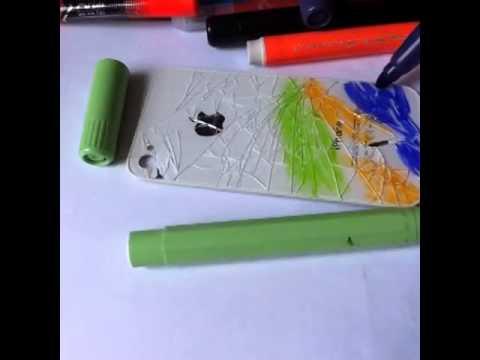 Cracked Iphone 4 Sharpie Drawingsinstmanks