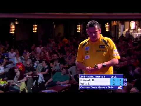 German Darts Masters 2014 Second Round Dave Chisnall v Steve West