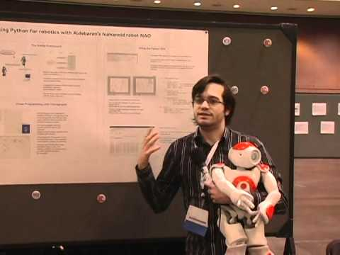 36  Using Python for robotics with Aldebaran's humanoid robot NAO