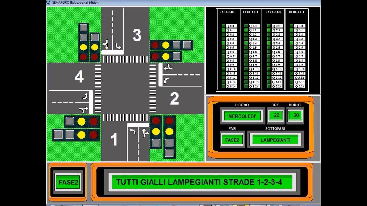 Smart Project Omron 2014, Automazione semaforica