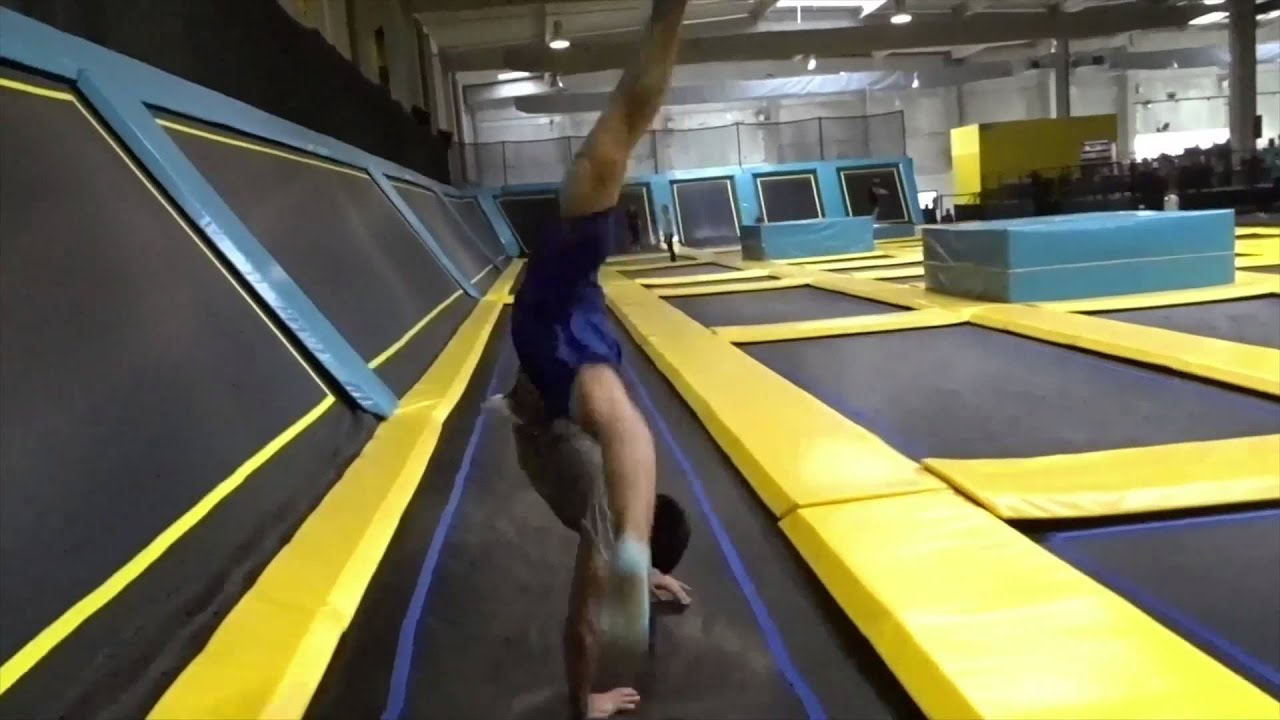 trampoline park toulouse session f vrier 2016 3 youtube. Black Bedroom Furniture Sets. Home Design Ideas