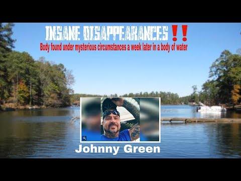 INSANE DISAPPEARANCES Johnny Green of Newton County Ga