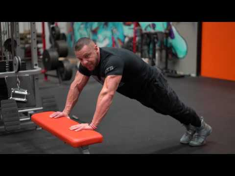 How to do an Incline Pushup | Tiger Fitness