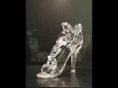 Glass Sculpture (High Heel Shoes)