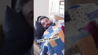 $200 Yeti Blanket Review #shorts