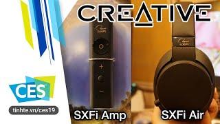 Creative SXFI AMP - Headphone DAC/Amplifier cho người mê phim, game, nghe nhạc thú vị