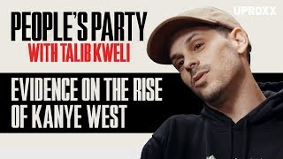 """Evidence Knew Kanye West Was Special After Seeing Talib Kweli's """"Get By"""" Video l People's Party Clip"""