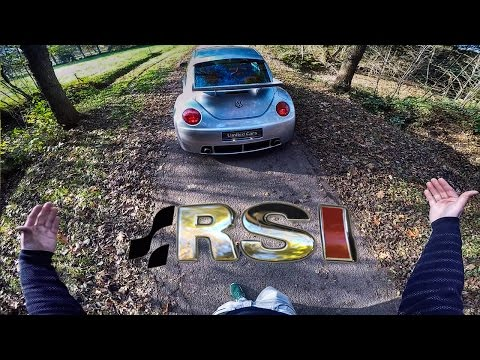 VW Beetle RSi 3.2 V6 4Motion Review POV Test Drive