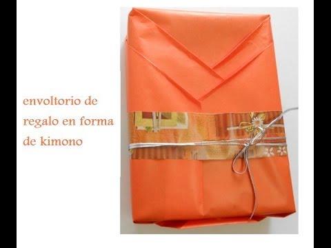 Como envolver de manera original un regalo con forma de - Envolver libros de forma original ...