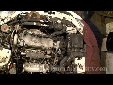 1998 Honda Civic Engine Part 1 EricTheCarGuy YouTube