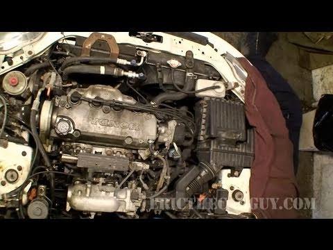 1998 honda civic engine part 1  ericthecarguy