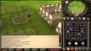 Runescape 2007: Herb Run Guide + Loot From 100 Ranarr Seeds!!!!!