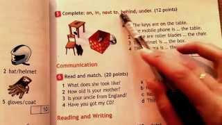 7 урок-Now I know and Modular Test 1. Проверочный и контрольный тесты. Английский язык.