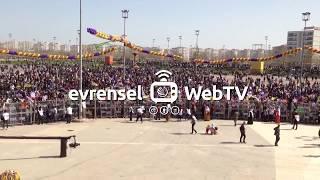 Diyarbakır'da halk Bağlar'daki Newroz alanında toplanmaya başladı