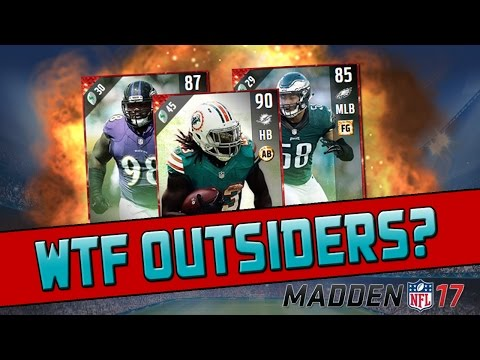 Why Is Football Outsiders Like This? | Madden 17 Ultimate Team - Fright Pack Opening