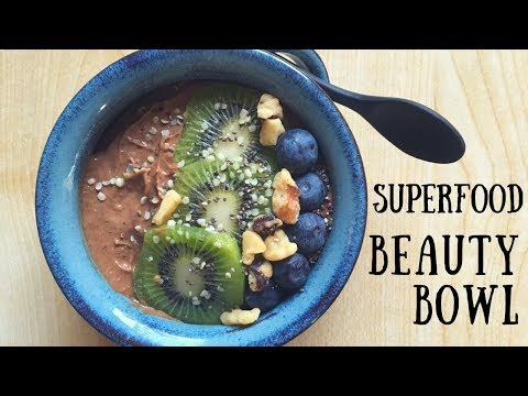Vegan Smoothie Bowl for Beauty | Skin, Hair & Nails!